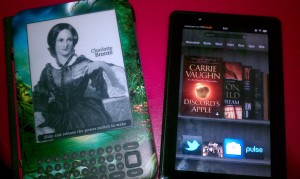 Old Kindle Vs New Kindle Fire
